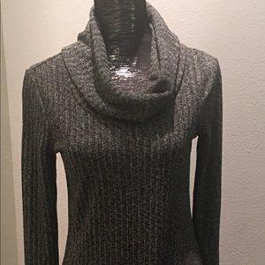 Black Swan marled sweater dress